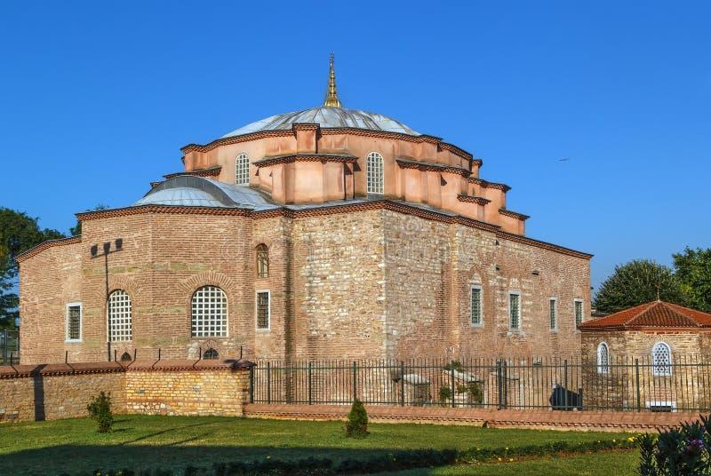 Pouco Hagia Sophia, Istambul fotografia de stock