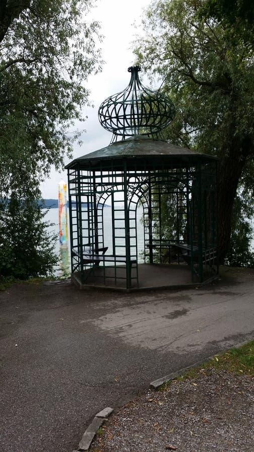 Pouco Pavillon com uma grande vista fotografia de stock royalty free
