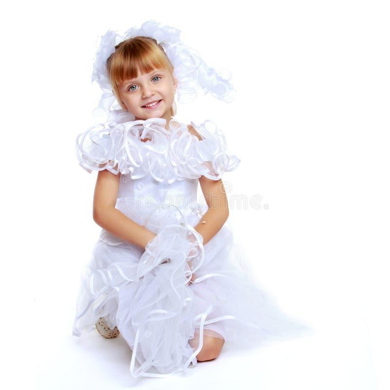 Pouco princesa Charming foto de stock