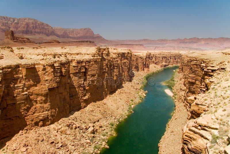 Pouco rio de Colorado fotografia de stock