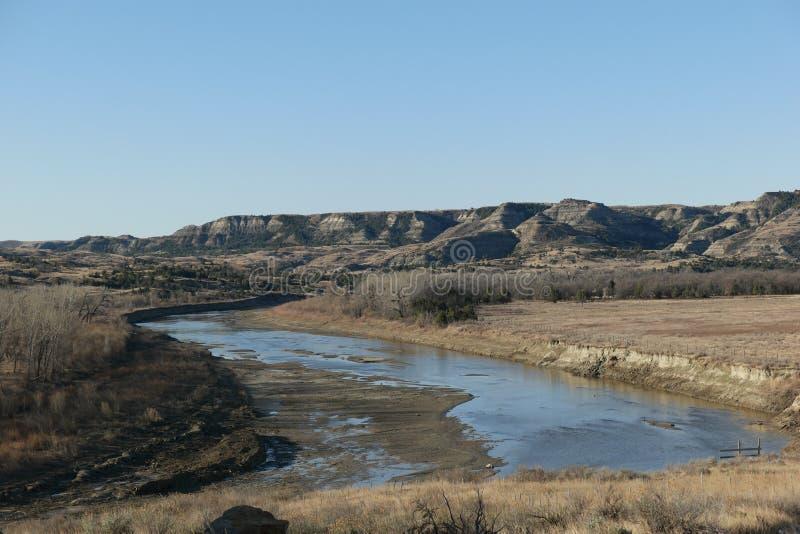 Pouco rio de Missouri fotografia de stock royalty free