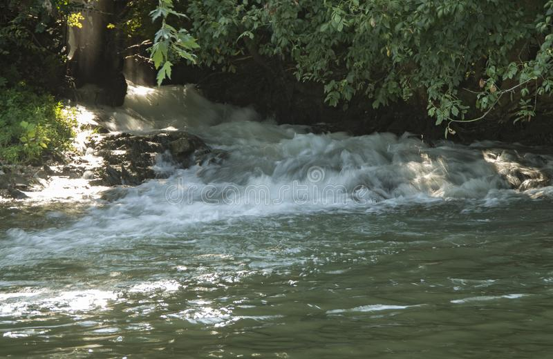 Pouco rio de Pigeon Forge fotografia de stock royalty free