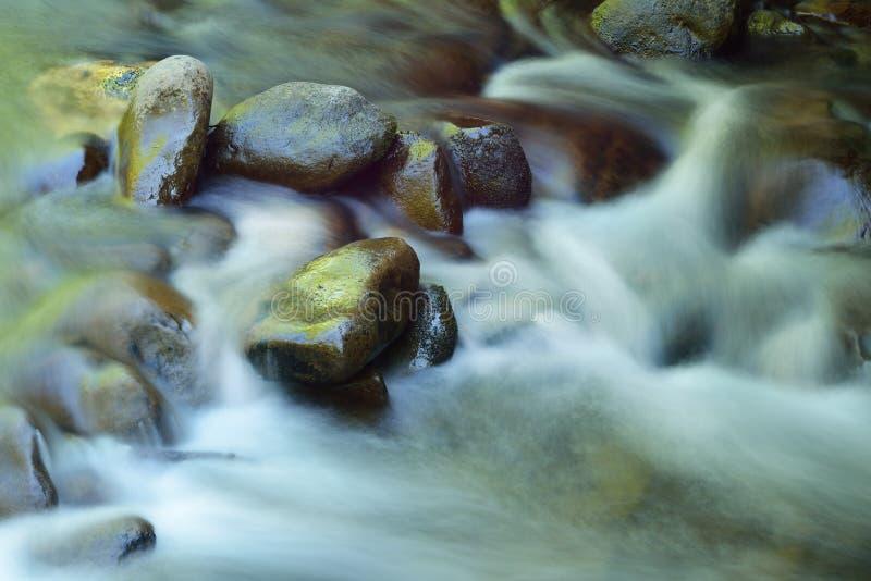Poucos Rapids do rio fotos de stock