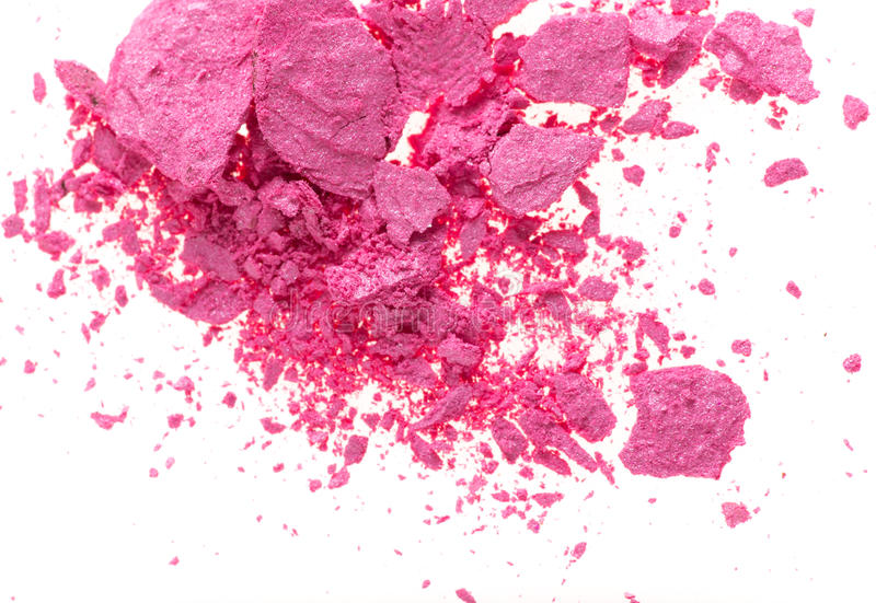 Poudre colorée images stock