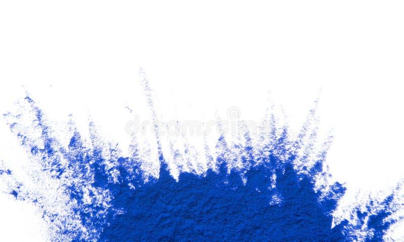 Poudre colorée image stock