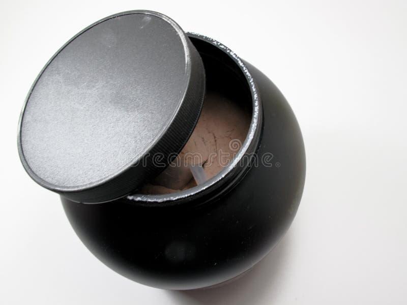Poudre de protéine photo stock