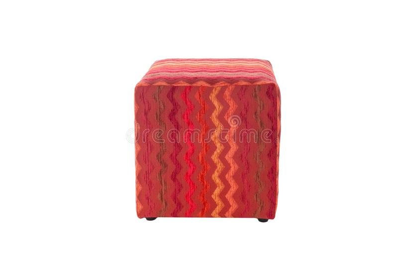 Pouf de couleur photo stock