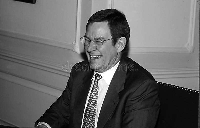 POUL NYRUP RASMUSSEN_DANOSH PRIME MINISTER. Copenhagen/Denmark/ _ 16th January 1996 -Poul Nyryup Rasmussen danish prime minister and social democrat (Photo by royalty free stock photos