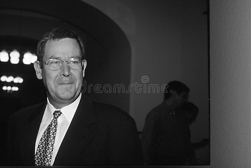 POUL NYRUP RASMUSSEN_DANOSH PRIME MINISTER. Copenhagen/Denmark/ _ 10th September 1997 -Poul Nyryup Rasmussen danish prime minister and social democrat (Photo by stock photography
