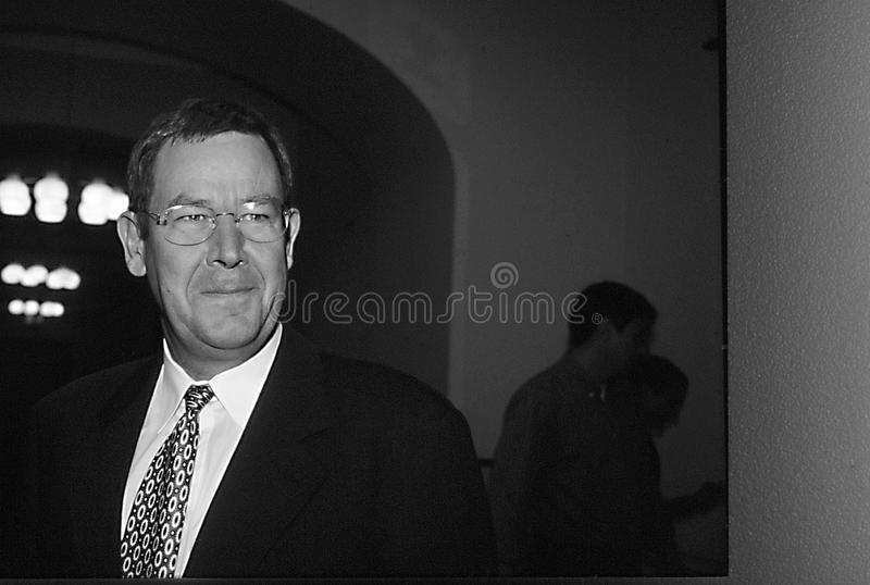 POUL NYRUP RASMUSSEN_DANOSH PRIME MINISTER. Copenhagen/Denmark/ _ 10th September 1997 -Poul Nyryup Rasmussen danish prime minister and social democrat (Photo by royalty free stock images