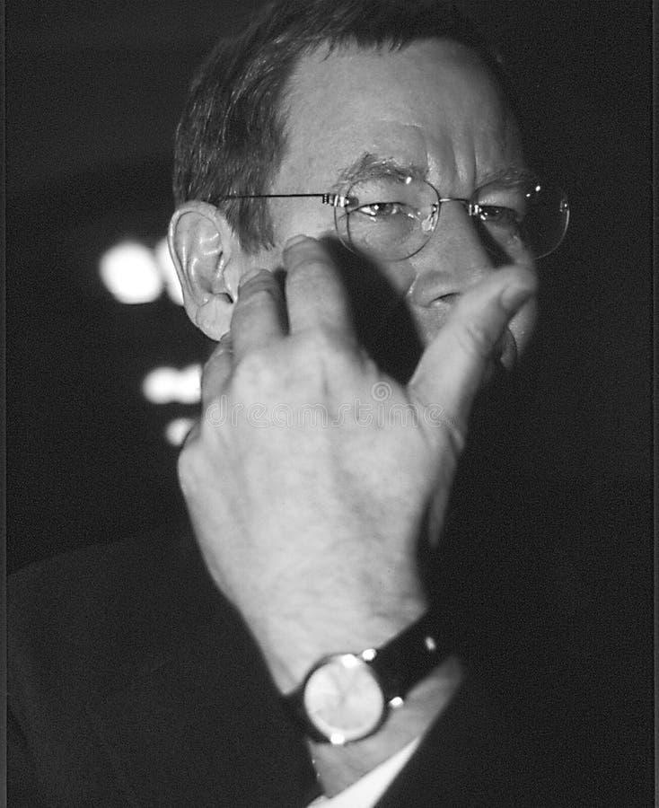 POUL NYRUP RASMUSSEN_DANOSH PRIME MINISTER. Copenhagen/Denmark/ _ 10th September 1997 -Poul Nyryup Rasmussen danish prime minister and social democrat (Photo by royalty free stock photo
