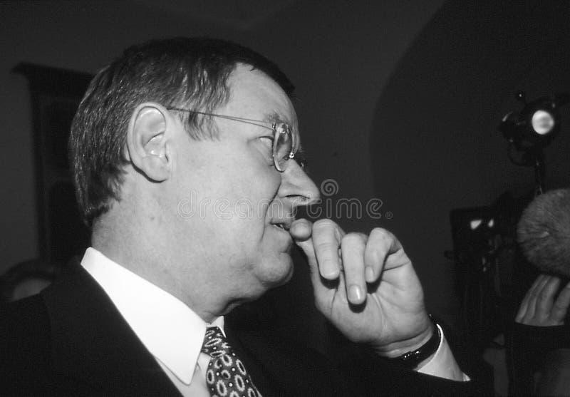POUL NYRUP RASMUSSEN_DANOSH PRIME MINISTER. Copenhagen/Denmark/ _ 10th September 1997 -Poul Nyryup Rasmussen danish prime minister and social democrat (Photo by royalty free stock photography