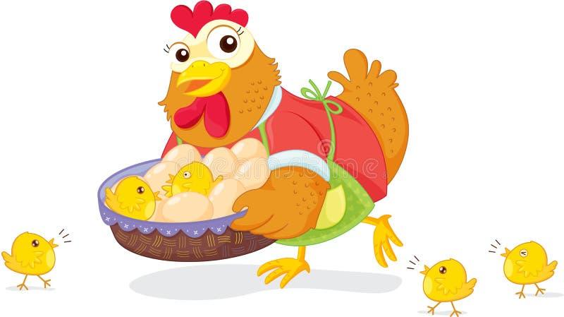 poulet illustration libre de droits