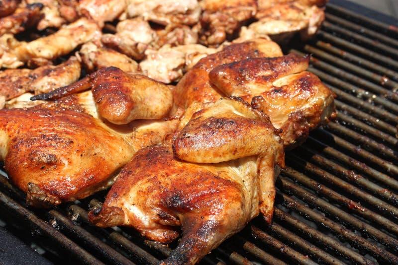 Poulet de barbecue photographie stock libre de droits