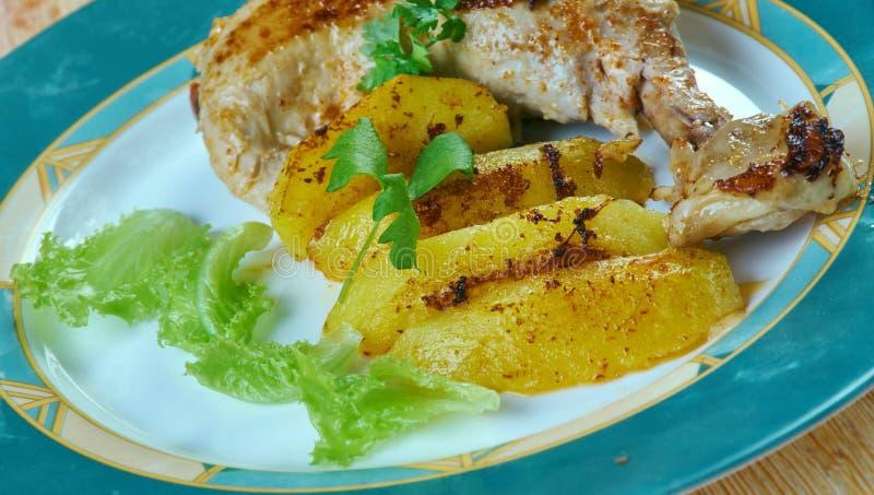 Poulet Dijon le Citron fotos de stock