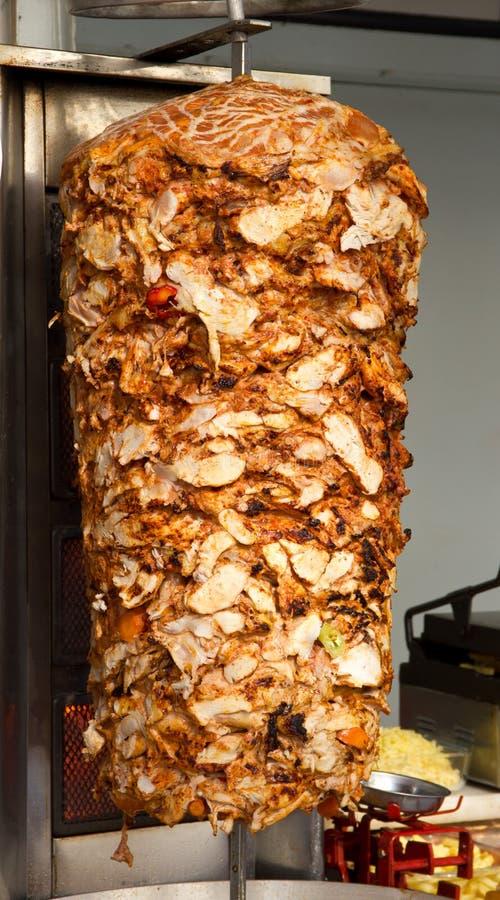 Poulet Doner Kebab image libre de droits