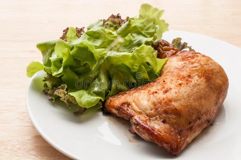 Poulet grillé épicé photos stock