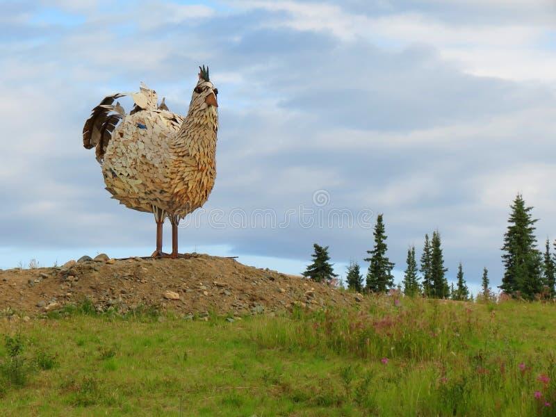 Poulet, point de repère de l Alaska