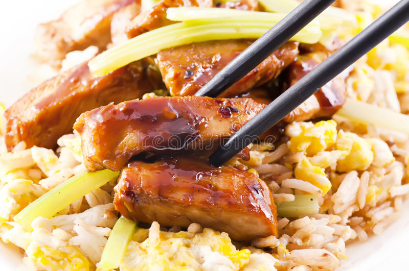 Poulet Teriyaki photos stock