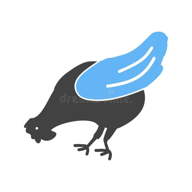 Poulet, volaille, poule illustration de vecteur