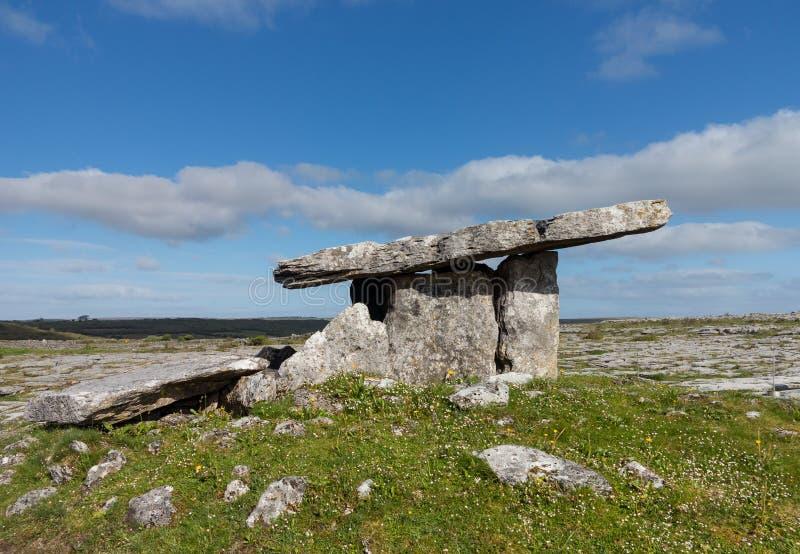 Poulnabrone dolmen obraz royalty free