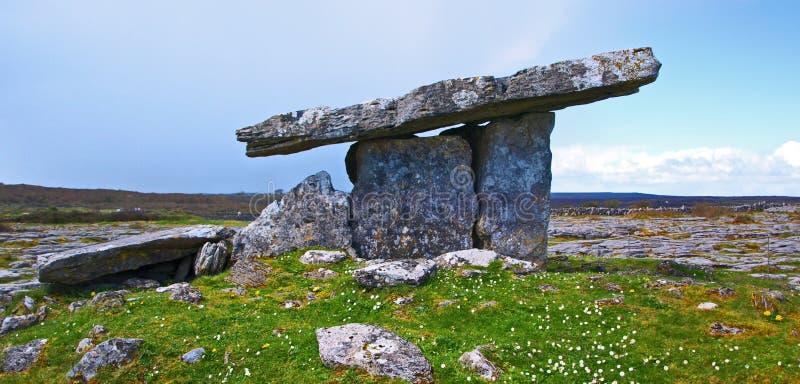 Poulnabrone dolmen obrazy royalty free