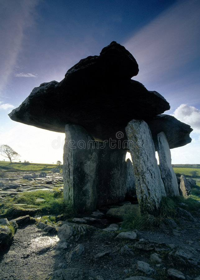 Download Poulnabrone Dolmen Royalty Free Stock Photos - Image: 4896778