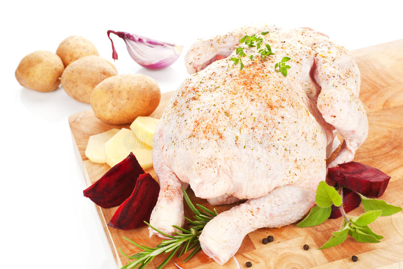 Download Poultry Background. Delicious Raw Chicken. Stock Photo - Image: 20313844