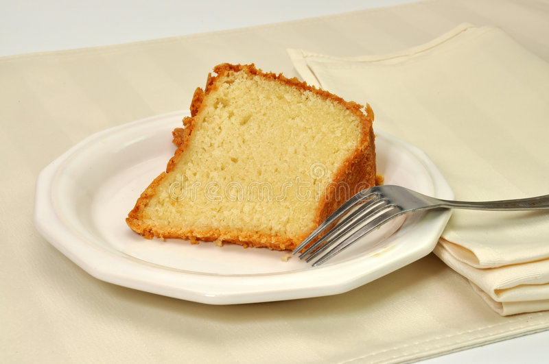 Download Pound Cake stock image. Image of snack, white, sweet, yellow - 7702521