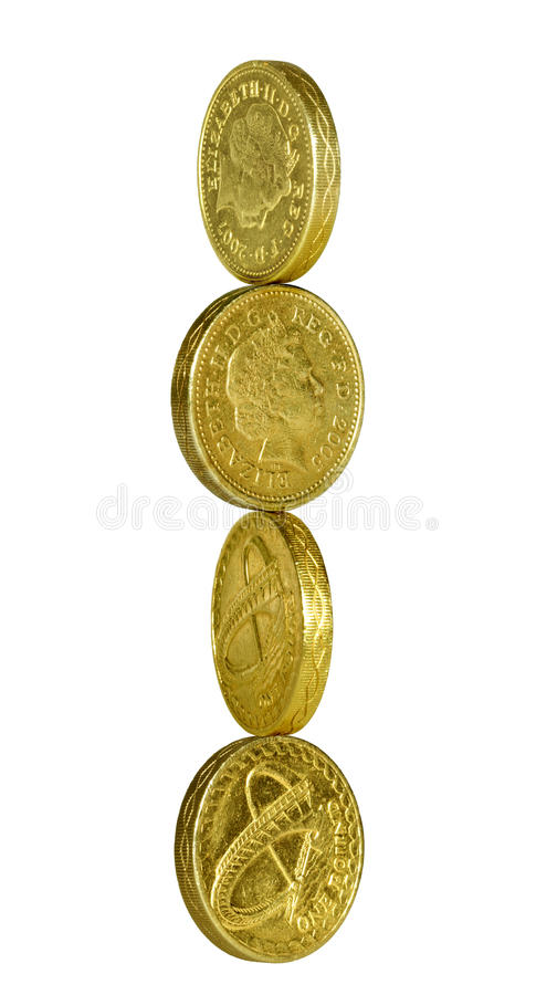 Download Pound coin balance stock photo. Image of money, accounting - 11291092
