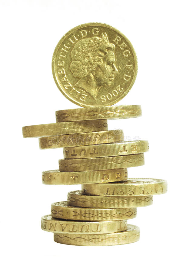 Download Balancing The Budget Pounds Stock Image - Image: 11090981