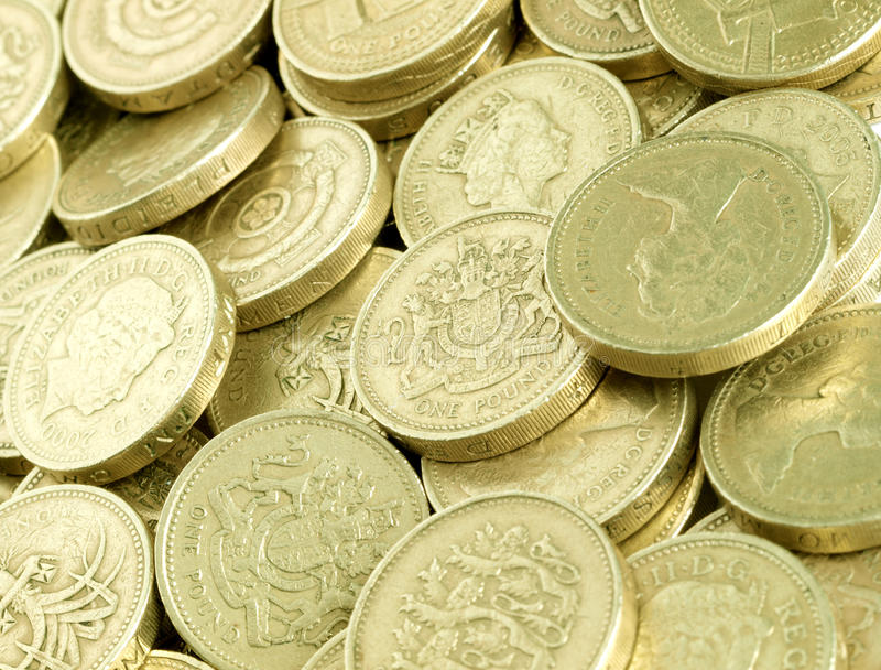 Download Pound Coins stock photo. Image of finance, economy, spending - 14374594