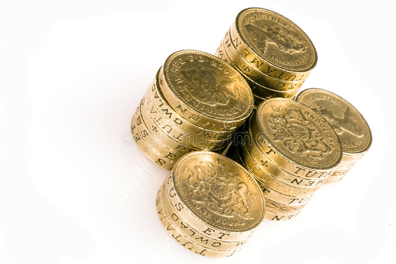 Download Pound Coins stock image. Image of rich, pound, british - 7452815