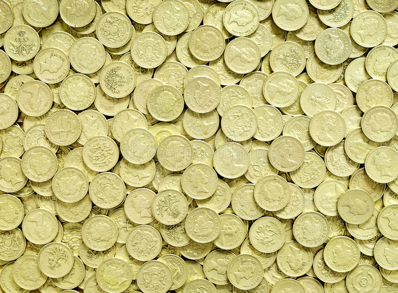 Download Pound Coins Background Royalty Free Stock Image - Image: 14799136