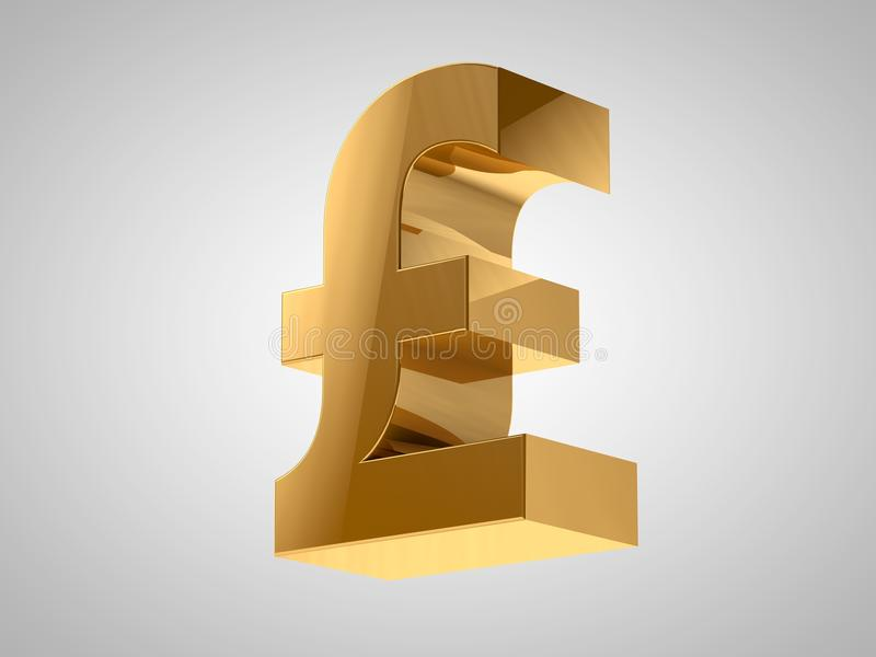 Download Pound Currency Sign stock illustration. Illustration of silver - 25811180