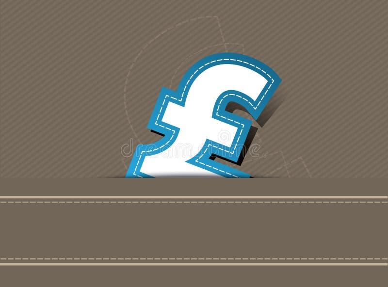 Pound money background design