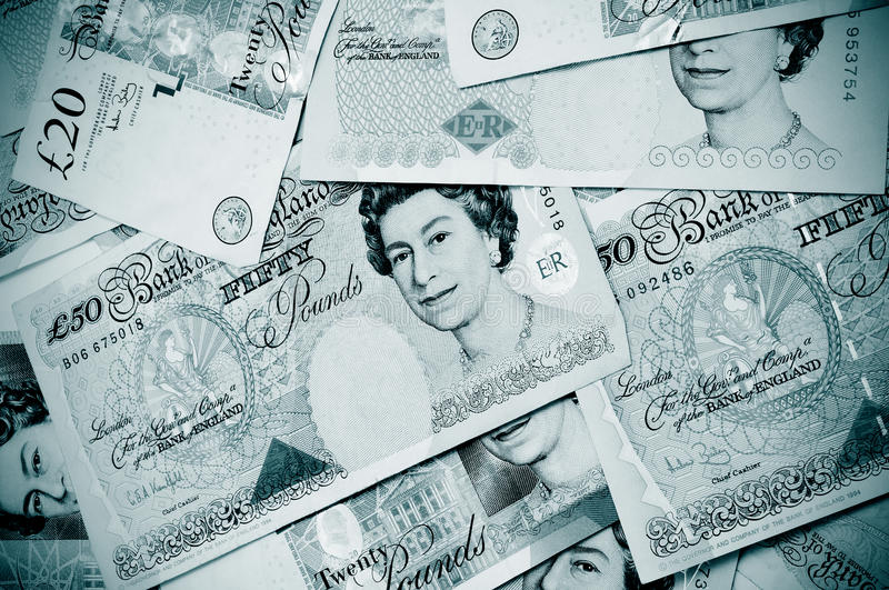 Download Pound notes editorial stock image. Image of fifty, currency - 20640779