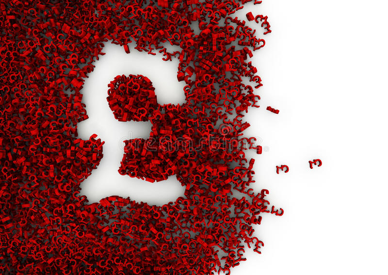 Download Pound sign stock illustration. Image of value, british - 19865371