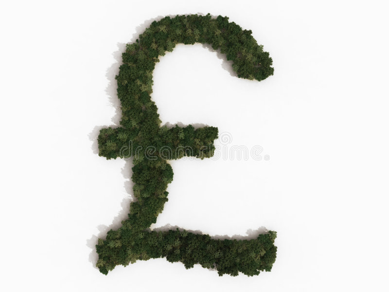 Download Pound sign made of trees stock illustration. Image of environment - 8204571