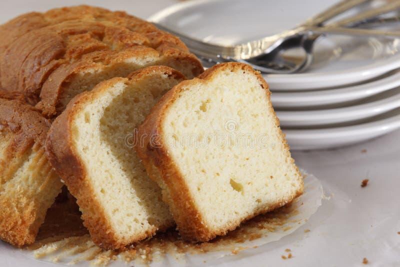 Poundcake photo stock