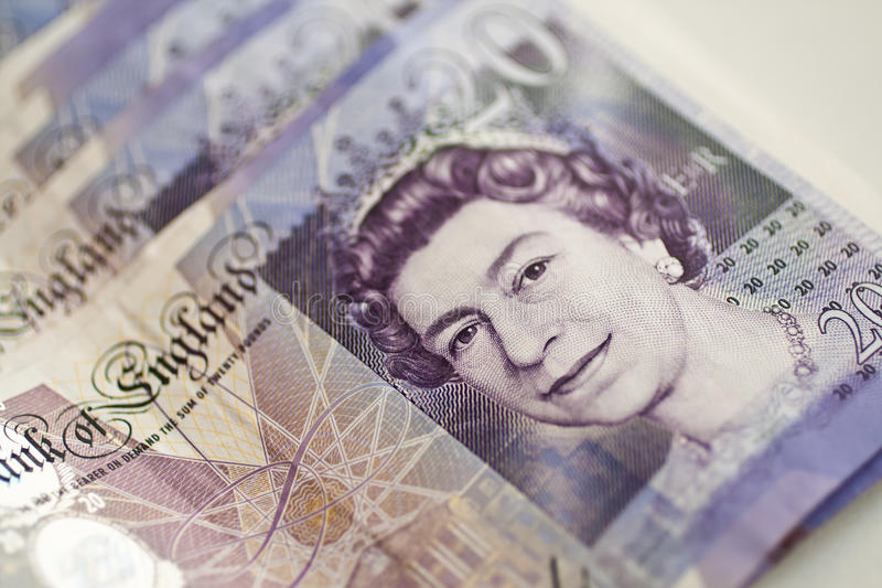 Pounds stock photo