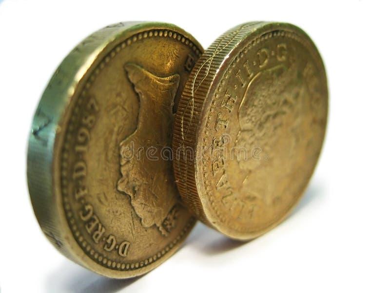 Pounds stock image