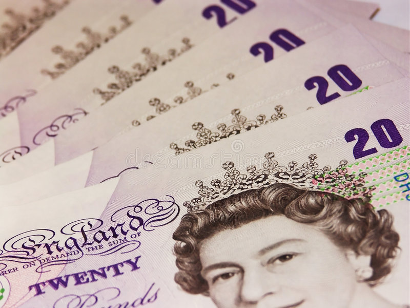 Pounds sterling #1 royalty free stock image