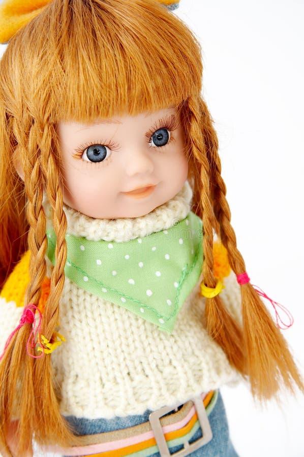 Poupée blonde image stock