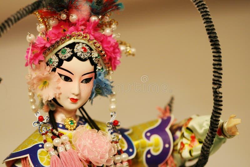 Poupée d'opéra de Pékin photos stock