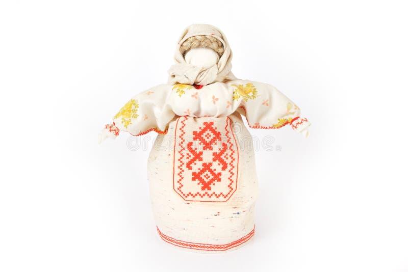 Poupée de chiffon traditionnelle russe images libres de droits