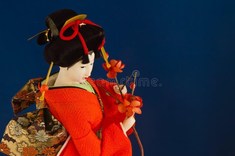 Poupée de geisha photo libre de droits