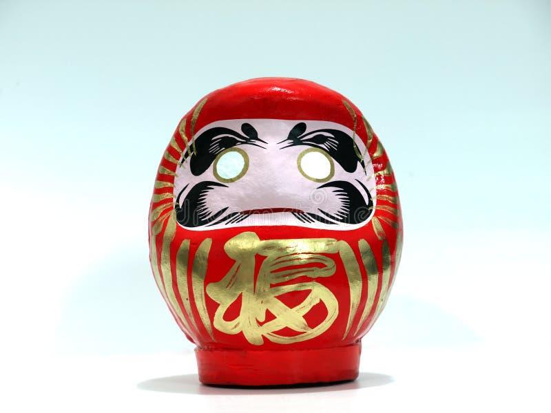 Poupée de souhait de Japonais (Daruma) image libre de droits
