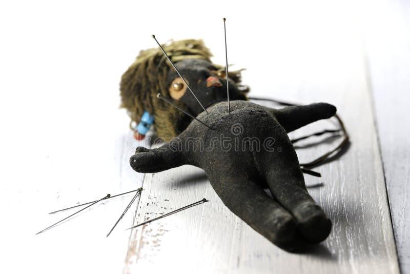 Poupée de vaudou images libres de droits
