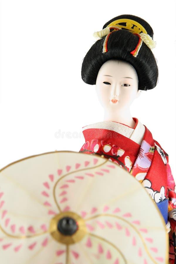Poupée femelle du Japon images stock